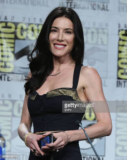 """Defiance Press Room/Panel"""" -- Pictured: Jaime Murray --"""
