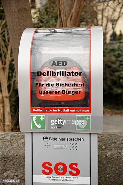 Defibrillator, – AED