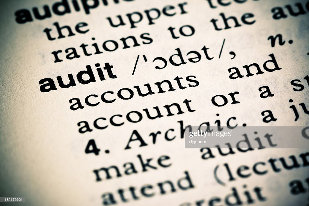 Definition Audit Stock Photo - Getty Images