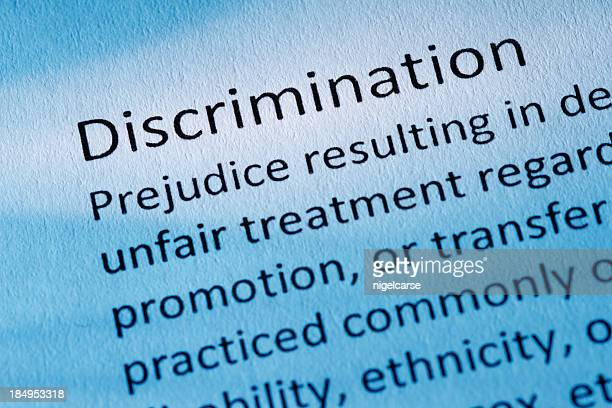 definition: discrimination - prejudice stock pictures, royalty-free photos & images