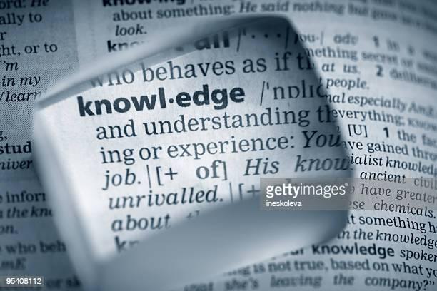 """Definición de conocimiento"""""""""""