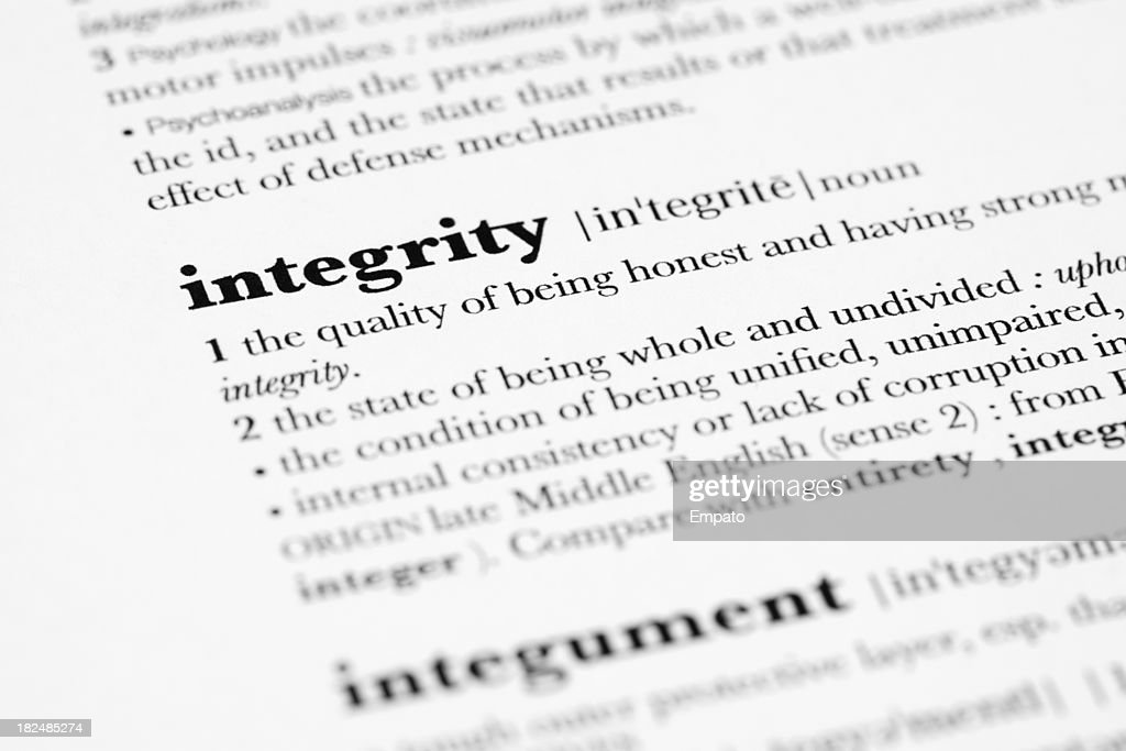 500 word integrity Self discipline molds and creates a society with men and women of integrity with years the vices of integrity and self discipline are been eroded in society.
