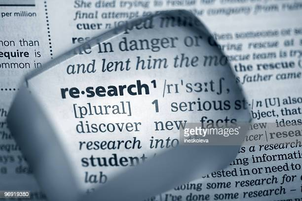 Definition 'research'