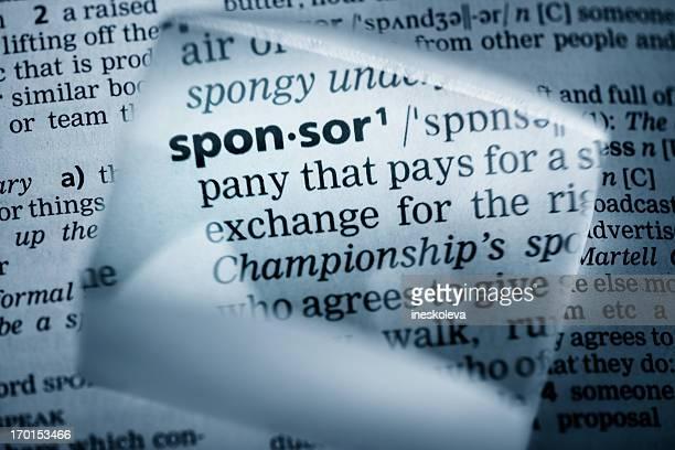 Definition 'sponsor'