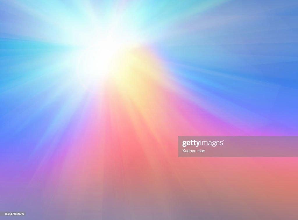 Defocus Multi Color Gradient Vector Background : Stock Photo