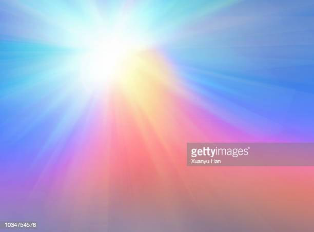 defocus multi color gradient vector background - light effect stock pictures, royalty-free photos & images