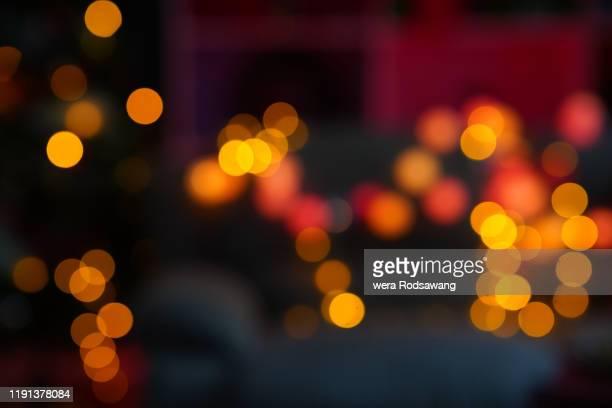 defocused blurred bokeh light background - ローズゴールド ストックフォトと画像