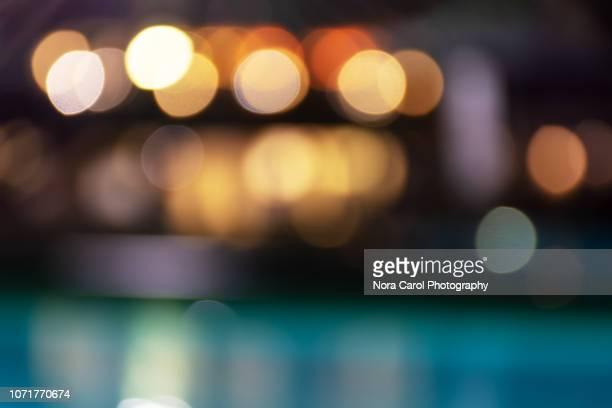 defocused bokeh light background - softfocus stockfoto's en -beelden