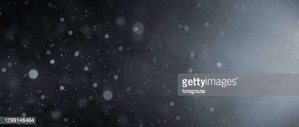 defocused dust particles - particle stock pictures, royalty-free photos & images