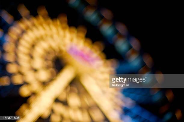 Defocused Ferris Wheel