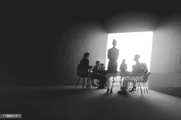 defocused group of business people - mystery stock pictures, royalty-free photos & images