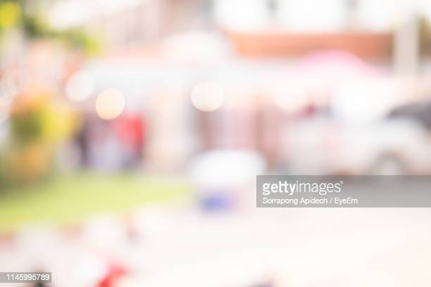 defocused image of houses - soft focus stock pictures, royalty-free photos & images
