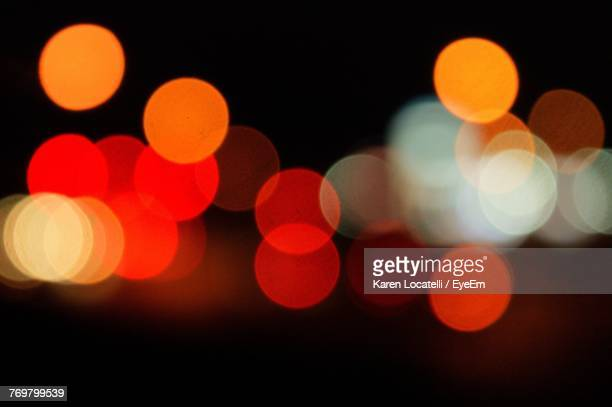 Defocused Image Of Illuminated Lights