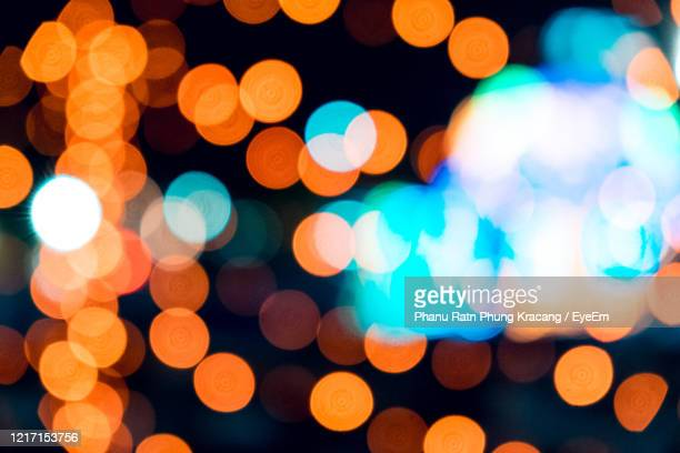 defocused image of lights - christmas beetle stock pictures, royalty-free photos & images