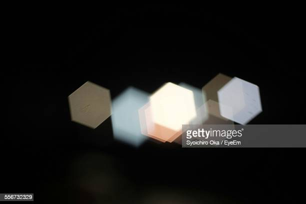 defocused image of lights - light effect stock pictures, royalty-free photos & images