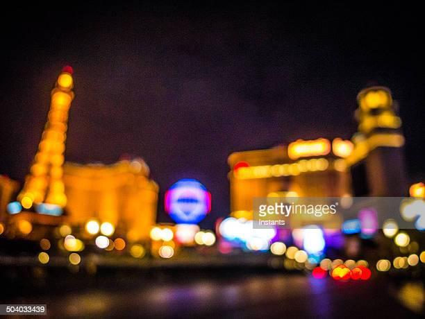 Defocused Las Vegas