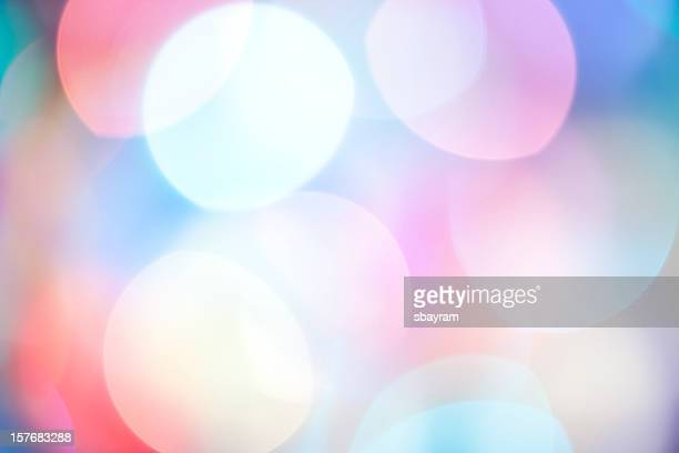 Defocused Light. Abstract Background