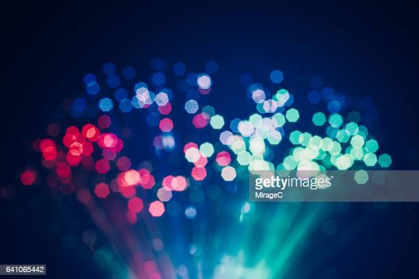 Defocused Light of Fiber Optics
