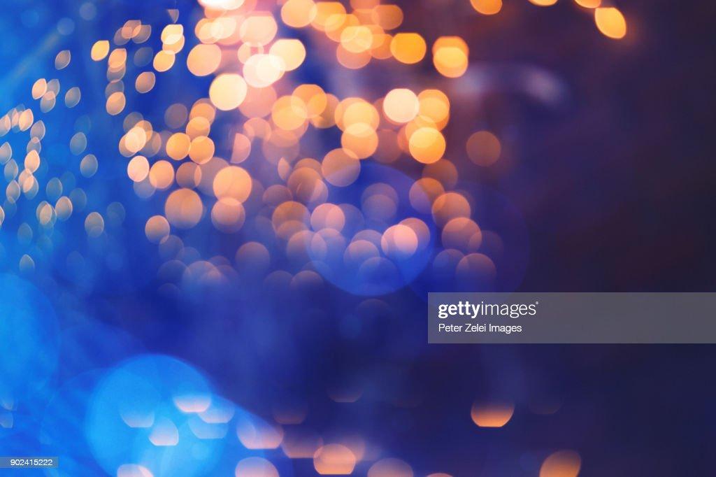 Defocused lights background : Stock Photo