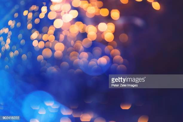 defocused lights background - illuminated stock pictures, royalty-free photos & images