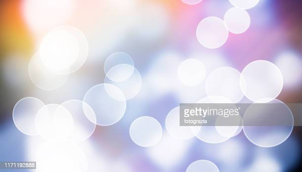 defocused lights - blendenfleck stock-fotos und bilder