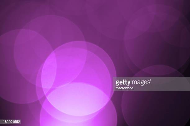 Defocused purple holiday light background