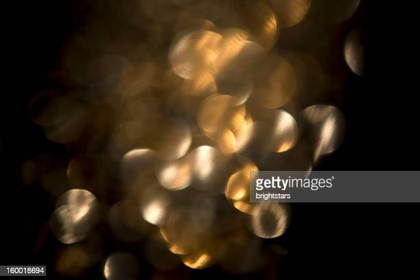 Defocussed golden lights