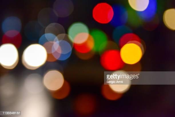 Defocussed lights in Otaru