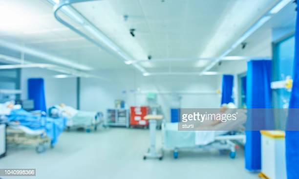 defocussed medical room - hospital stock pictures, royalty-free photos & images