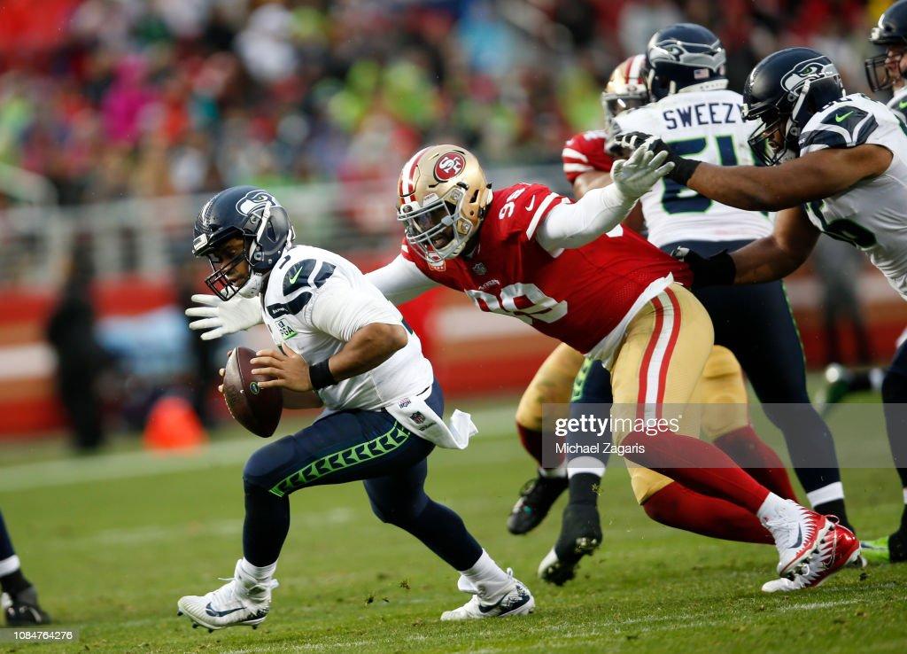 Seattle Seahawks v San Francisco 49ers : News Photo