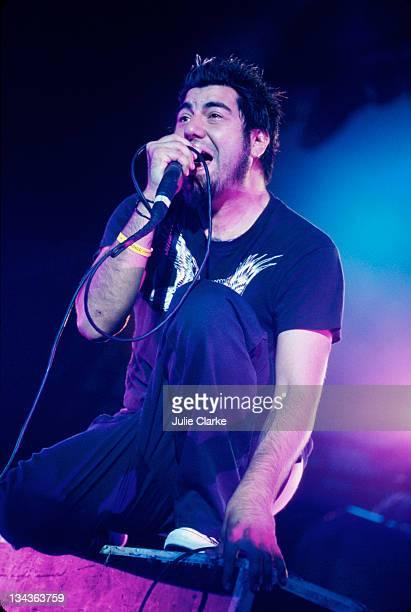 Deftones during Cypress Hill performing at SmokeOut Concert at San Bernadino in San Bernadino California United States