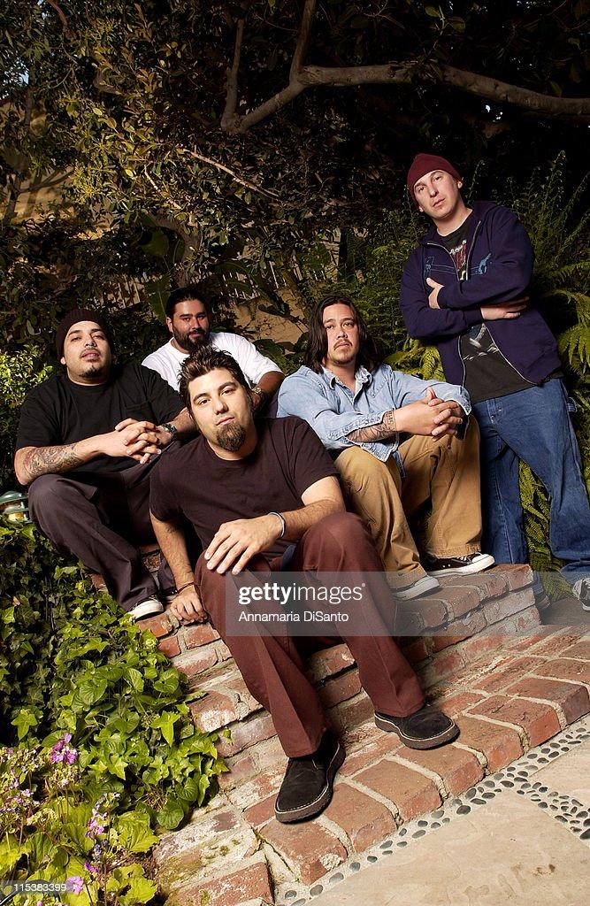 Deftones Photo Session On Location 2003