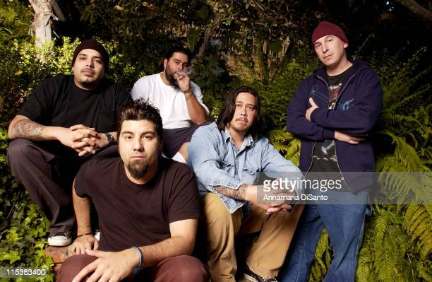 Deftones during Deftones Photo Session On Location 2003 at Private Residence in Los Angeles California United States