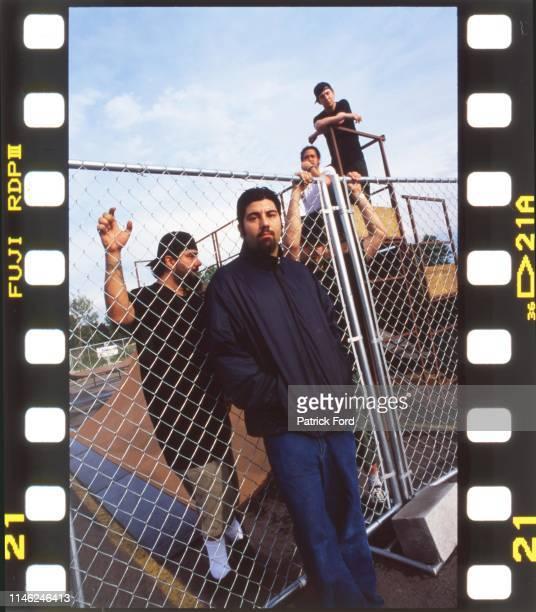 Deftones group portrait Rochester New York 2000