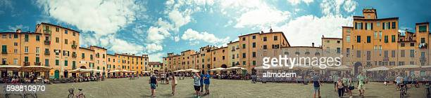 360 degree Panorma Piazza Anfiteatro lucca