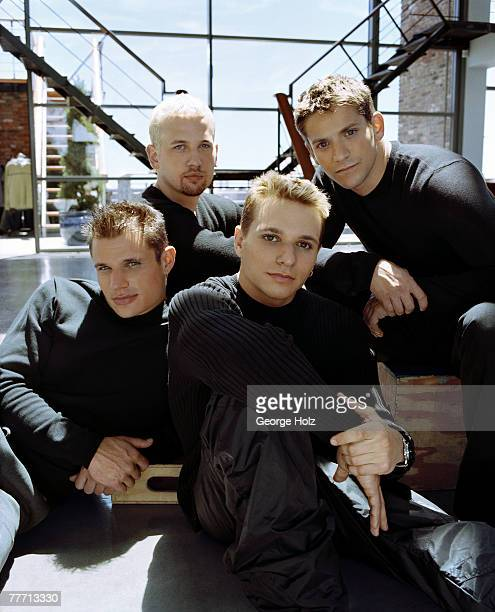 98 Degrees 98 Degrees by George Holz 98 Degrees Teen People September 1 1999 New York New York