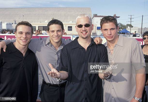 98 Degrees Drew Lachey Jeff Timmons Justin Jeffre and Nick Lachey