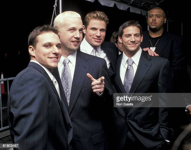 98 Degrees Drew Lachey Justin Jeffre Nick Lachey and Jeff Timmons