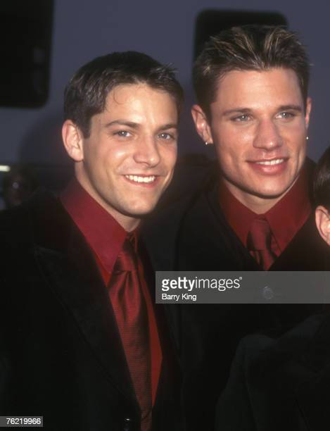 98 Degrees Jeff Timmons and Nick Lachey