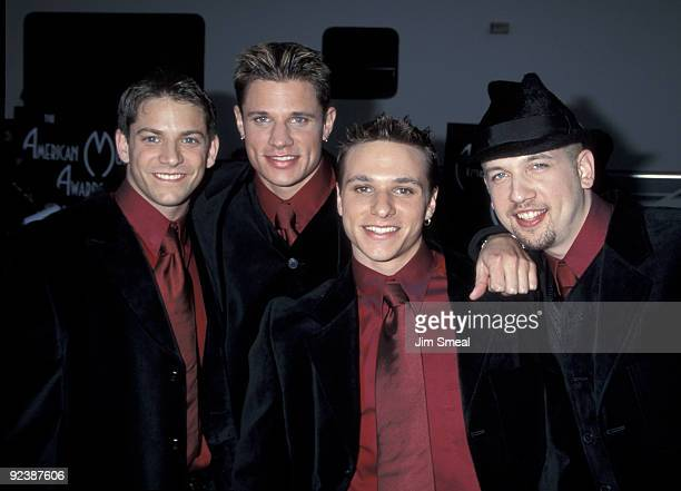 98 Degrees Jeff Timmons Nick Lachey Drew Lachey and Justin Jeffre