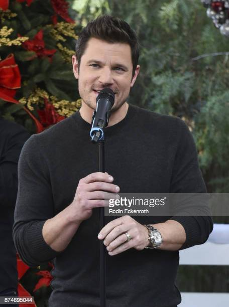 Degrees' Nick Lachey performs onstage at Hallmark's 'Home Family at Universal Studios Hollywood on November 15 2017 in Universal City California