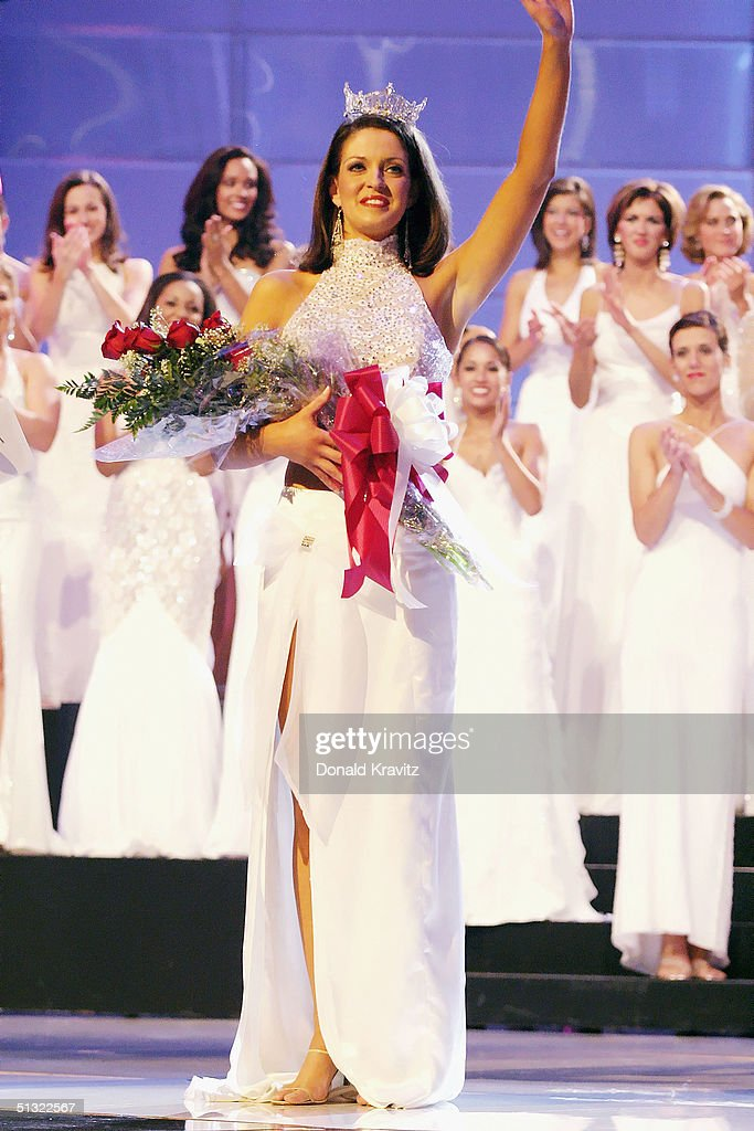 2004 Miss America Competition : News Photo