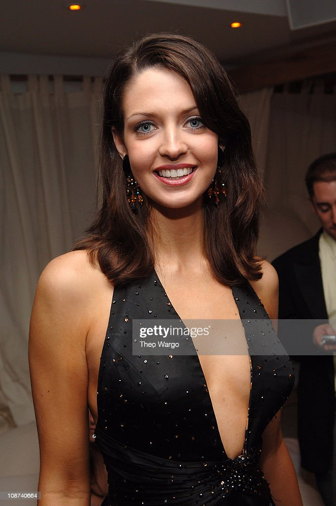 Deidre Downs, Miss America 2005 during The 39th Annual CMA Awards - Capital Records Post Party - Red Carpet and Inside at Nikki Beach in New York City, New York, United States.