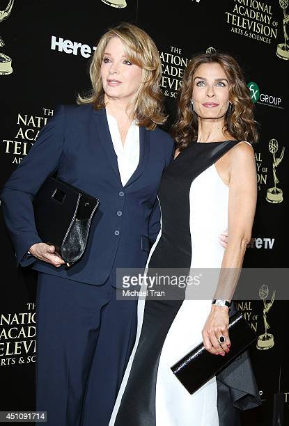 Deidre Hall and Kristian Alfonso arrive at the 41st Annual Daytime Emmy Awards held at The Beverly Hilton Hotel on June 22 2014 in Beverly Hills...