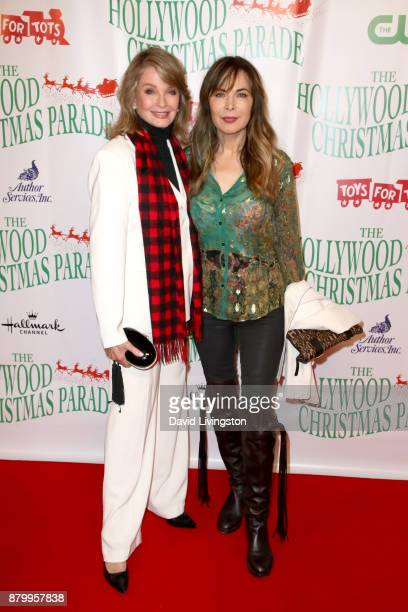 Deidre Hall and Lauren Koslow at 86th Annual Hollywood Christmas Parade on November 26 2017 in Hollywood California
