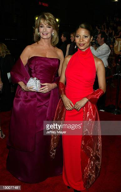 Deidre Hall and Renee Jones during The 29th Annual People's Choice Awards Arrivals at Pasadena Civic Auditorium in Pasadena California United States