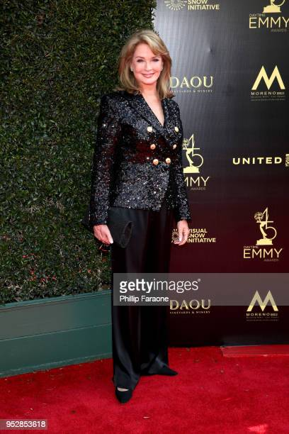 Deidre Hall attends the 45th annual Daytime Emmy Awards at Pasadena Civic Auditorium on April 29 2018 in Pasadena California