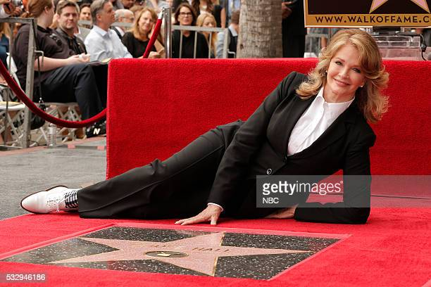 LIVES Deidre Hall Hollywood Walk of Fame Ceremony Pictured Deidre Hall