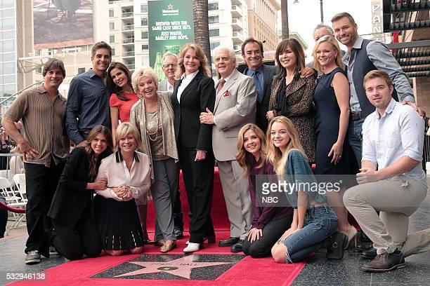 LIVES 'Deidre Hall Hollywood Walk of Fame Ceremony' Pictured Front Row Kate Mansi Mary Beth Evans Jen Lilley Olivia Rose Keegan Chandler Massey Back...