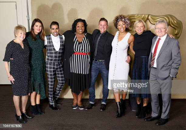 Deidre Sanders, Bryony Blake, Dr Ranj Singh, Alison Hammond, Steve Wilson, Dr Zoe Williams, Alice Beer and Dr Chris Steele attend a BAFTA tribute...